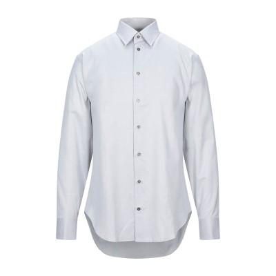 アルマーニ コレッツィオーニ ARMANI COLLEZIONI シャツ ライトグレー 40 コットン 100% シャツ