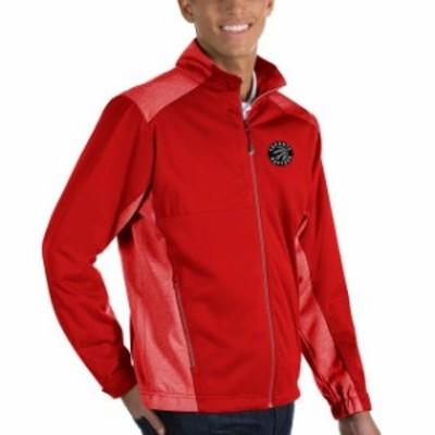 Antigua アンティグア スポーツ用品  Antigua Toronto Raptors Red Revolve Full-Zip Jacket