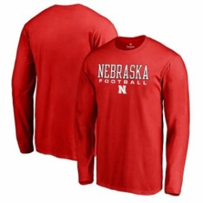 Fanatics Branded ファナティクス ブランド スポーツ用品  Fanatics Branded Nebraska Cornhuskers Scarlet True Sport