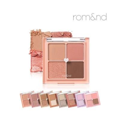 rom&nd BETTER THAN EYES Eyeshadow Palette 4色 全8種 アイシャドウ パレット 韓国コスメ 大人気 アイシャドウ アイメイク メイクアップ ロムアンド