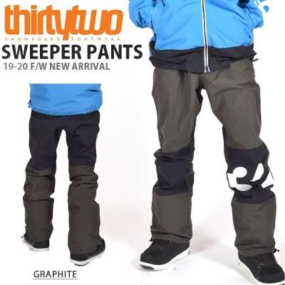 スノーボードウェア ThirtyTwo 32 サーティー トゥー SWEEPER PANTS メンズ パンツ スノーボード ボトムス サーティーツー 得割25