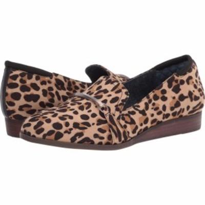 ドクター ショール Dr. Scholls レディース ローファー・オックスフォード シューズ・靴 Dezi Tan/Black Leopard