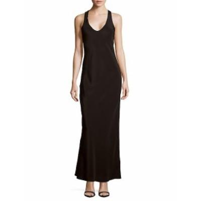 ティビ レディース ワンピース Solid Sleeveless Silk Gown