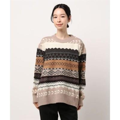 ニット K/ノルディックセーター