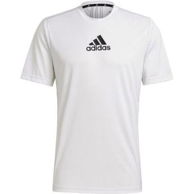 Tシャツ メンズ 半袖 メンズ トップス メンズ M D2M 3ストライプス Tシャツ WHT/BLK  (ADS)(CQB27)