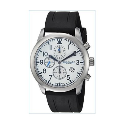 Men's Sports Watch | Flatline Chrono Adventure Watch by Momentum | Stainless Steel Watches for Men | Sapphire Crystal Analog Watch with Japanese Movem