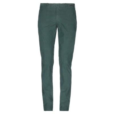 PT Torino パンツ グリーン 52 98% コットン 2% ポリウレタン パンツ
