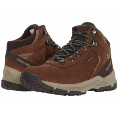 Merrell メレル メンズ 男性用 シューズ 靴 ブーツ ハイキング トレッキング Erie Mid Waterproof Earth【送料無料】