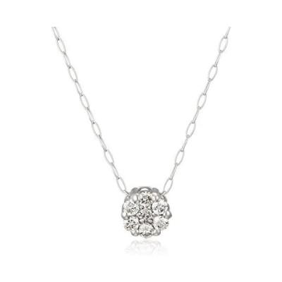 [ディーコレクション] D-COLLECTION プラチナ ダイヤモンドネックレス 0.1ct DN12425A