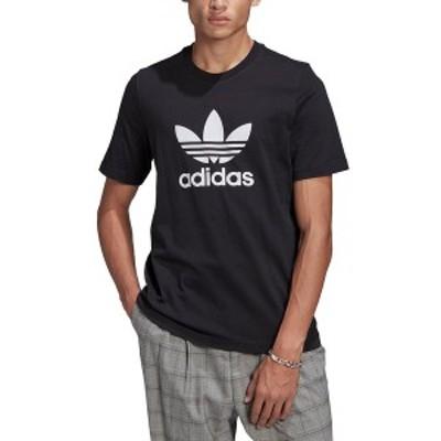 アディダス メンズ Tシャツ トップス Men's Trefoil T-Shirt Black