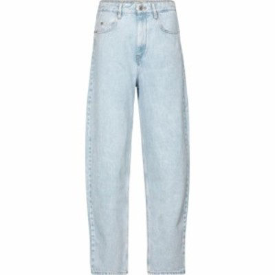 イザベル マラン Isabel Marant. Etoile レディース ジーンズ・デニム ボトムス・パンツ Corsy high-rise tapered jeans Light Blue