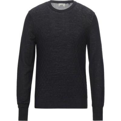 ヘンリーコットンズ HENRY COTTON'S メンズ ニット・セーター トップス Sweater Black