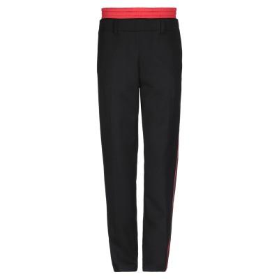 BURBERRY パンツ ブラック 46 ウール 100% / ポリエステル / コットン パンツ