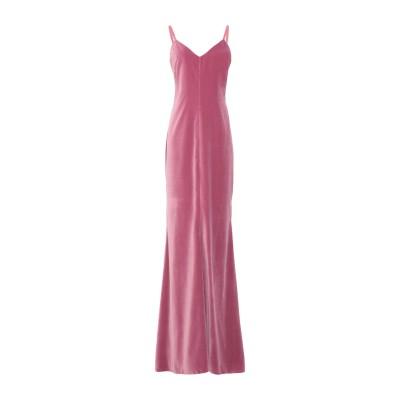 マックスマーラ MAX MARA ロングワンピース&ドレス ピンク 36 ポリエステル 100% ロングワンピース&ドレス