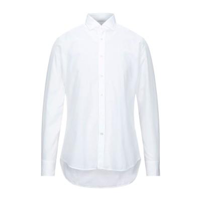 バグッタ BAGUTTA シャツ ホワイト 41 コットン 100% シャツ