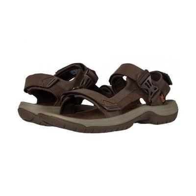 Teva テバ メンズ 男性用 シューズ 靴 サンダル Tanway Leather - Chocolate Brown