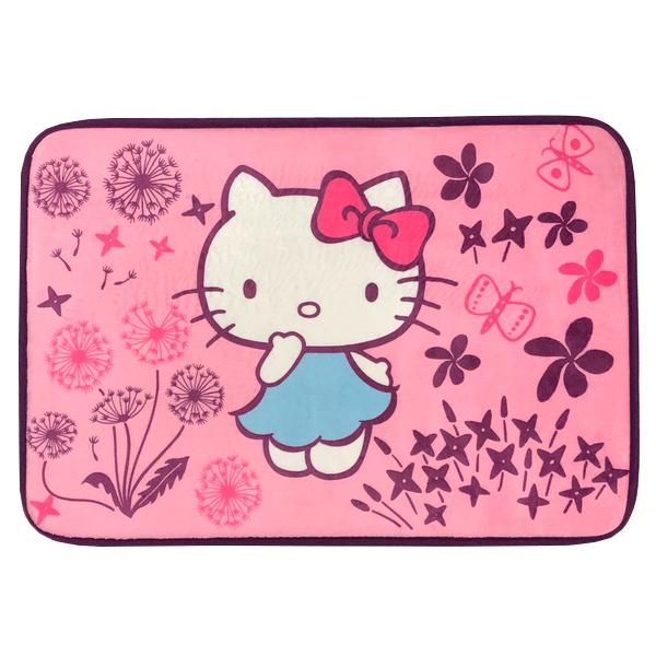 凱蒂貓x印花樂地墊-蒲公英