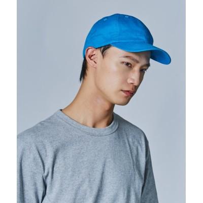 【オーバーライド】 OVERRIDE LINEN BASIC CAP メンズ ブルー 57cm~59cm OVERRIDE