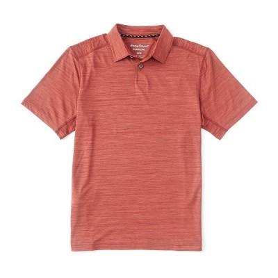 トッミーバハマ メンズ ポロシャツ トップス Palm Coast Delray Short-Sleeve Polo Shirt Heat