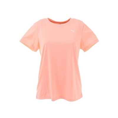 プーマ(PUMA) トレーニングTシャツ 520659 03 PNK 半袖 (レディース)