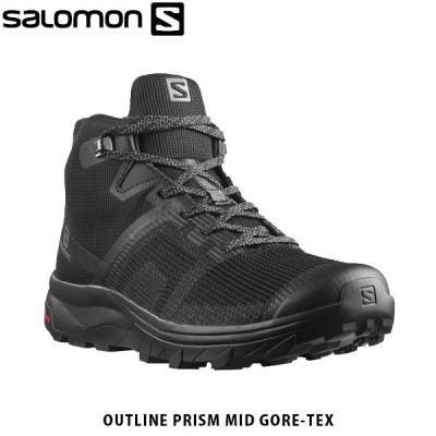 SALOMON サロモン OUTline PRISM MID GORE-TEX W レディース シューズ 靴 ハイキング ミッドカット 防水 透湿 アウトドア SAL0985 国内正規品