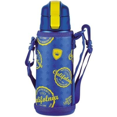 パール金属 キッズチャージャー ダイレクト ボトル 600 スターポーチ付 HB-2797 ブルー サイズ:(約)幅8×奥行9×高さ24.5cm、口径4.5cm