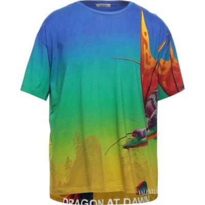 ヴァレンティノ VALENTINO メンズ Tシャツ トップス T-Shirt Blue