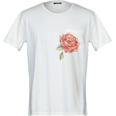 OFFICINA 36 T シャツ ホワイト L コットン 100% T シャツ