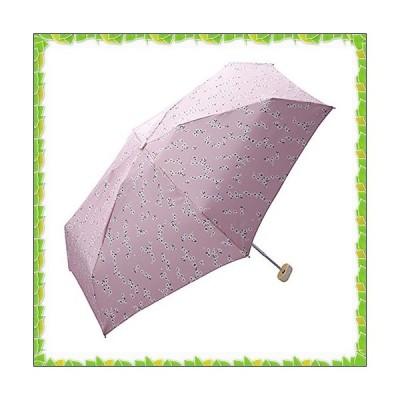 ワールドパーティー(Wpc.) 雨傘 折りたたみ傘  ピンク  50cm  レディース ポーチタイプ ヴィンテージフラワー ミニ 701-188 PK