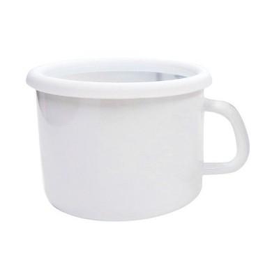 厨房用品 保存容器 / コンテ ストックポット リリーホワイト 12cm KE-12MP・LW 寸法: 外寸間口:155 x 奥行:130 x H95mm 容量:1000cc