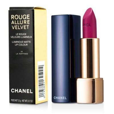 シャネル リップスティック Chanel 口紅 ルージュアリュール ベルベット #34 La Raffinee 3.5g