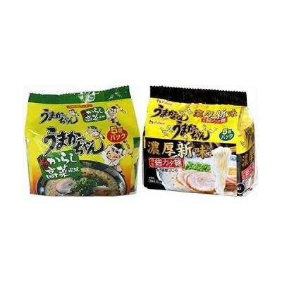 うまかっちゃん 10食セット(濃厚新味5食+辛子高菜風味5食) 計10食