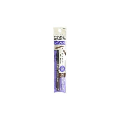 コーセー エルシア プラチナム 鉛筆 アイブロウ ライトブラウン BR301 (1.1g) 眉墨 ELSIA