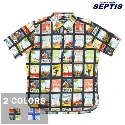 【2 COLORS】SEPTIS ORIGINAL(セプティズオリジナル) IVY PULLOVER SHIRTS(半袖ボタンダウンアイビープルオーバーシャツ) TRAVEL SPOT(トラベルスポット)