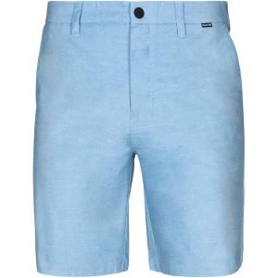 ハーレー メンズ ハーフパンツ・ショーツ ボトムス Hurley Men's Dri-FIT Breathe 19'' Shorts Stone Blue
