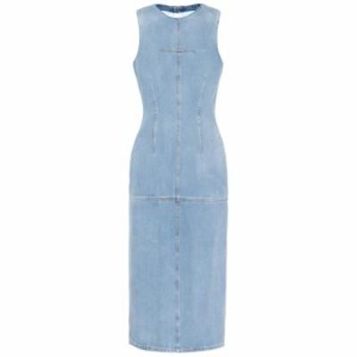 メゾン マルジェラ MM6 Maison Margiela レディース ワンピース ワンピース・ドレス Denim midi dress Stonge Vintage