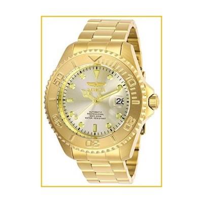 【☆送料無料☆新品・未使用品☆】Invicta Men's Pro Diver Gold-Tone Steel Bracelet & Case Automatic Champagne Dial Analog Watch 28950【