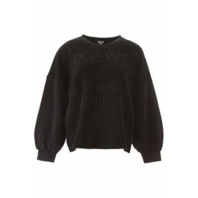 LOEWE/ロエベ トレーナー BLACK Loewe embroidered sweatshirt レディース 春夏2020 S540341X09 ik