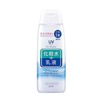 pdc ピュアナチュラル エッセンスローションUV 化粧水+乳液 210mL