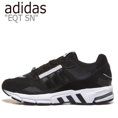 アディダス スニーカー adidas メンズ レディース EQT SN エキップメント スニーカー BLACK ブラック FU9268 シューズ