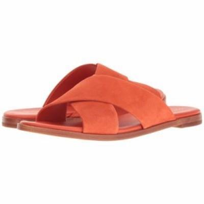 コールハーン サンダル・ミュール Anica Crisscross Sandal Spicy Orange Suede