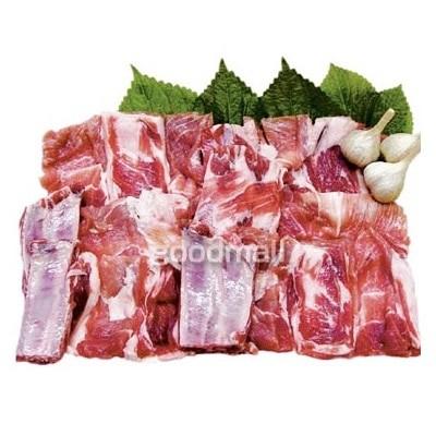 *韓国食品*クール便100 豚骨付きカルビ 約1kg [デボラ]
