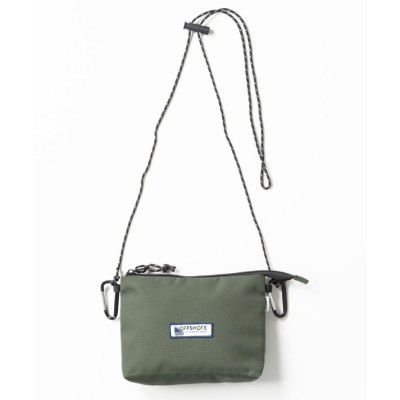 (OFF SHORE/オフショア)COMPACT SACOCHE SHOULDER BAG/ユニセックス OLIVE