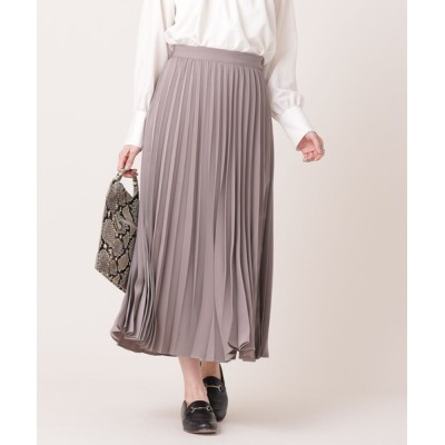 nano・universe / アコーディオンプリーツスカート (セットアップ可) WOMEN スカート > スカート