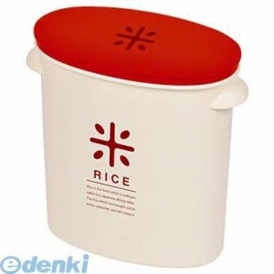 パール金属 [HB-2167] RICE お米袋のままストック5kg用【レッド】 HB2167【キャンセル不可】