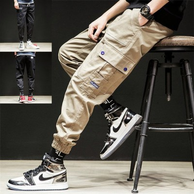 カーゴパンツ メンズ ジョガーパンツ ミリタリーパンツ 綿 カジュアル ズボン ロングパンツ ゆったり