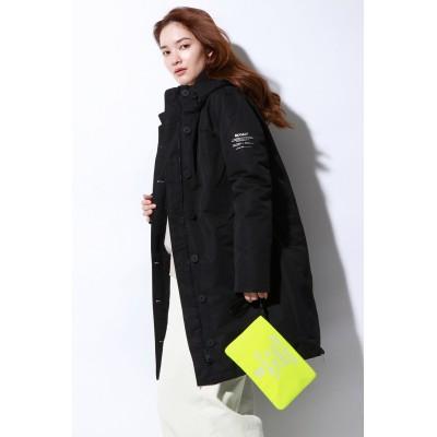 ECOALF エコアルフ 【先行販売】GLACIER ロングコート / GLACIER BECAUSE LONG COAT WOMAN レディース ブラック S
