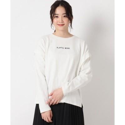 tシャツ Tシャツ バックフォト天竺プルオーバー
