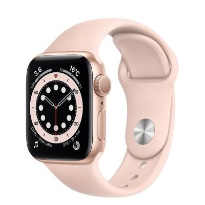 Apple Watch Series 6 GPS 40mm アルミケース スポーツバンド MG123LL/A ピンク 新品 スマートウォッチ本体 1年保証