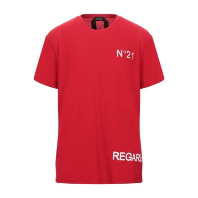 ヌメロ ヴェントゥーノ N°21 T シャツ レッド XS コットン 100% T シャツ